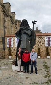 Propaedeutic course seminarians at Alba de Tormes, where St Teresa of Ávila died (1582) and is buried.
