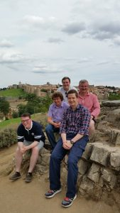 Seminarians visit Ávila during their propaedeutic period 2015