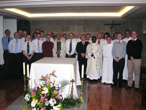 Seminarians from Rome and Scotus College share a Holy Week retreat and celebrate the Easter Triduum in Salamanca 2008
