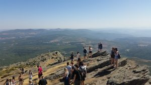 Atop the Peña de Francia